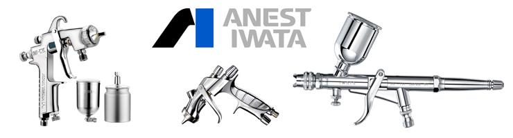 ANEST IWATA- совершенство технологий распыления, теперь и в AVTOJET!