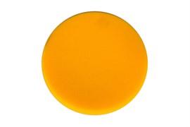 Поролоновый полир диск 150*25мм желтый