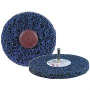 05810 3М Зачистной круг Clean'N'Strip (пурпурный) со шпинделем, 150мм х 13мм х 8мм