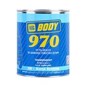 Body 970 бесцветный грунт-наполнитель 2+1 с отвердителем 720 Боди, уп. 1+0,5 л