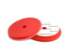 26900.224.010 Сверхпрочный поролоновый полировальный диск красный диаметр 130/150мм (Velcro).