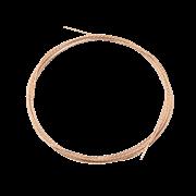 Струна квадратная IGLASS, сечение 0,6мм х 0,6мм длина 2м