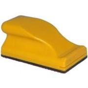 Рубанок короткий на липучке,желтый