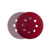 P 180 Абразивный круг IFILM Red ISISTEM, D=125мм, 8 отверстий