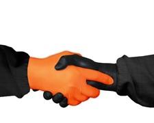 JETAPRO L Перчатки нитриловые черные