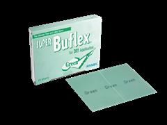 Лист шлифовальный Super Buflex Dry Green K2000 170*130mm, на липучке