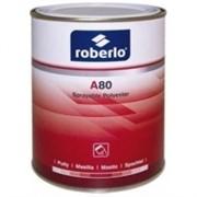 Шпатлевка Roberlo 2K, A-80, жидкая с катализатором 1л