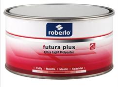 Шпатлевка Roberlo 2K, FUTURA PLUS суперлёгкая голубая1,0л