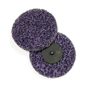 123362 RoxelPro Быстросъёмный пурпурный зачистной круг ROXPRO Clean&Strip 100*13мм