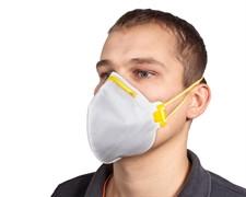 8210 Защитная маска против пыли и аэрозолей вредн. слаботоксичн.веществ. /20/