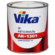 208 охра золотистая, Акриловая эмаль АК1301 Vika Вика, уп. 0,85 кг