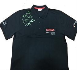 204398 Рубашка поло СС36 черная размер XL - фото 10757