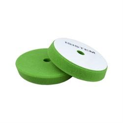 polirovalnyi-krug-iz-porolona-d-130-140-mm-konus-t25-mm-zhestkii-zelenyi-isistem-conus-green