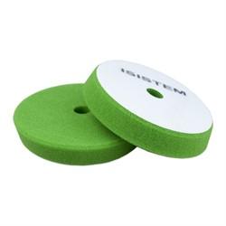 polirovalnyi-krug-iz-porolona-d-150-160-mm-konus-t30-mm-zhestkii-zelenyi-isistem-conus-green