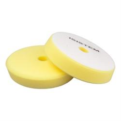 polirovalnyi-krug-iz-porolona-d-150-160-mm-konus-t30-mm-srednezhestkii-zheltyi-isistem-conus-yellow