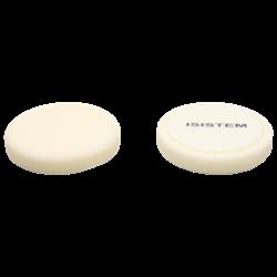 polirovalnyi-krug-iz-porolona-d150-mm-t30-mm-ekstra-zhestkii-belyi-norma-30-white-isistem