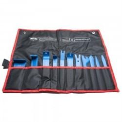 Набор ITOOLS в чехле с карманами из 11 шт.  для разборки декоративной обшивки салона автомобиля - фото 4866