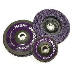 123343-roxelpro-purpurnyi-zachistnoi-krug-roxpro-clean-strip-na-opravke-115-22mm