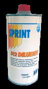 D12 Разбавитель Спринт для жидкой ПЭ шпатлевки, уп. 0,75л (шт.)