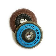 111856 RoxelPro Лепестковый круг ROXONE 125 х 22мм, оксид алюминия, конический, Р80
