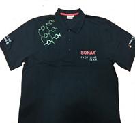 204298 Рубашка поло СС36 черная размер L