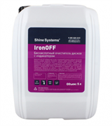 IronOFF бескислотный очиститель дисков с индикатором 5л