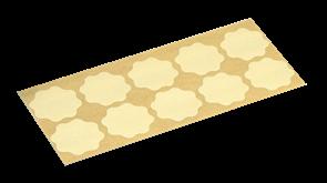 Микроабразивный цветок Yellow film  P2000