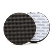 Рельефный поролоновый полир диск 150*25мм черный