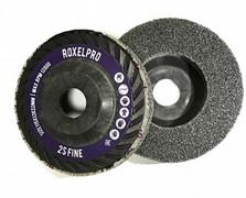 144414 RoxelPro Нетканый пресcованный круг ROXPRO 115x13x22 мм, Trimmable, 2S, Fine