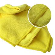 633223 RoxelPro MICROSHINE из микрофибры, 40х40см., жёлтая