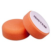 polirovalnyi-krug-iz-porolona-d80-mm-t30-mm-zhestkii-oranzhevyi-norma-30-orange-isistem