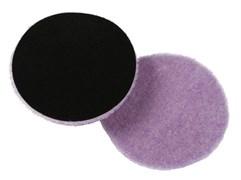 58-426 Полировальный диск меховой режущий длинный ворс/ Purple Foamed 165мм