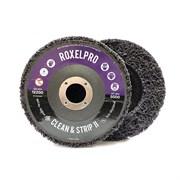 123543-roxelpro-purpurnyi-zachistnoi-krug-roxpro-clean-strip-ii-na-opravke-115kh22mm