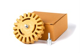 32240-krauss-tools-disk-zubchatyi-dlya-snyatiya-skotcha-s-adapterom-100-25-mm