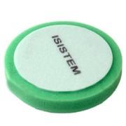 polirovalnyi-krug-iz-porolona-d150-mm-t30-mm-srednezhestkii-zelenyi-profi-30-green-isistem-iz-kor