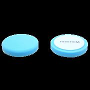 Полировальный круг из поролонa D150 mm T30 mm среднежесткий синий Norma 30 blue ISISTEM (из кор.)