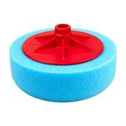 polirovalnyi-krug-s-rezboi-m14-iz-porolona-d150mm-t50mm-zhestkii-sinii-isistem-hard-blue