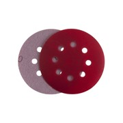 P2000 Абразивный круг IFILM Red ISISTEM, D=125мм, 8 отверстий