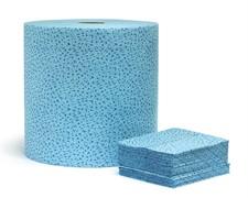 0470 JETA PRO PolyPro нетканные салфетки синие 32x40см. рулон