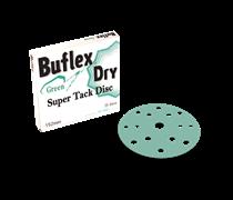Круг шлифовальный Super Buflex Dry Green 152 mm  P2500 15отв. на липучке